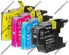 1 Set of Premium Quality High Capacity Brother LC1280 / LC1240XL / LC1220XL Compatible Multipack Ink Cartridges (101ml)
