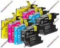 2 Set of Premium Quality High Capacity Brother LC1280 / LC1240XL / LC1220XL Compatible Multipack Ink Cartridges (192ml)