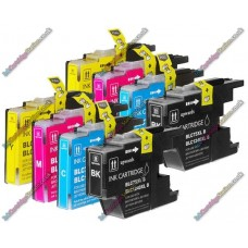 2 Set of Premium Quality High Capacity Brother LC1280 / LC1240XL / LC1220XL Compatible Multipack Ink Cartridges (202ml)