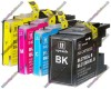 1 Set of Premium Quality High Capacity Brother LC1280XL Compatible Multipack Ink Cartridges (128ml)