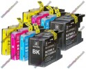 2 Set of Premium Quality High Capacity Brother LC1280XL Compatible Multipack Ink Cartridges