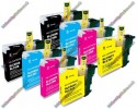 2 Set of Premium Quality Brother LC985 Compatible Multipack Ink Cartridges