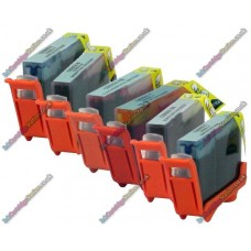 1 Set of Premium Quality Canon Compatible BCI-6 (Pack of 6)