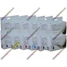 2 Set of High Quality Canon Compatible PGI-525 / CLI-526 Multipack Ink Cartridges with Chip (12)