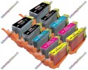 2 Set of Premium Quality Canon Compatible PGI-525 / CLI-526 Multipack Ink Cartridges with Chip (10)