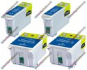 2 Pairs of Epson Compatible Ink Cartridges (2xT007 & 2xT008)