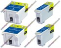 2 Pairs of Epson Compatible Ink Cartridges (2xT026 & 2xT027)