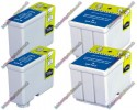 2 Pairs of Epson Compatible Ink Cartridges (2xT050 & 2xT052)