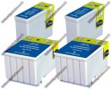 2 Pairs of Epson Compatible Ink Cartridges (2xT050 & 2xT053)