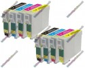 2 Set of Premium Quality T0715 Compatible Multipack Ink Cartridges for Epson - T0711->T0714