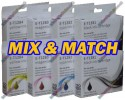 2 Set (ANY 8) of High Quality T1285 Compatible Multipack Ink Cartridges for Epson - T1281->T1284
