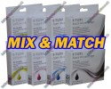 2 Set (ANY 8) of High Quality T1295 Compatible Multipack Ink Cartridges for Epson - T1291->T1294