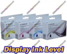 1x Full Set of 4 High Quality Compatible HP 364XL High Capacity Multipack Ink Cartridges with Chip show Ink Level 69ml