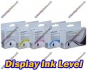 1x Full Set of 5 High Quality Compatible HP 364XL High Capacity Multipack Ink Cartridges with Chip show Ink Level 84ml