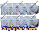2x Full Set of 5 High Quality Compatible HP 364XL High Capacity Multipack Ink Cartridges with Chip show Ink Level 168ml