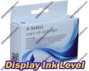 High Quality Compatible HP 364XL High Capacity Cyan Ink Cartridge with Chip show Ink Level 15ml
