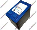 Premium Quality Remanufactured HP 22 XL Colour High Capacity Ink Cartridge (C9352AE) 15ml