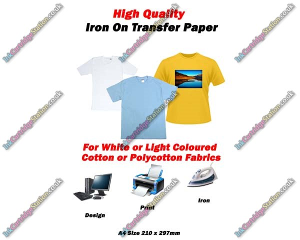 High quality a4 iron on t shirt transfer paper for light for Best quality t shirt transfer paper